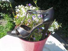 Dorothy Perkins Noche De Cuero Zapatos Talla 7 £ 30 Etiquetas Nuevo