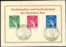 BERLIN 1949 68-70 gestempelt SST BUGA HANNOVER TADELLOS 600€(S1609