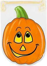 Wilton 15pk Shaped Smiling Pumpkin Drawstring Party Candy Treat Sweet Gift Bags