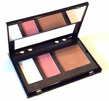 Trish McEvoy Mini Planner Page Pink Glow, Natural Bronzer,Translucent Powder NEW