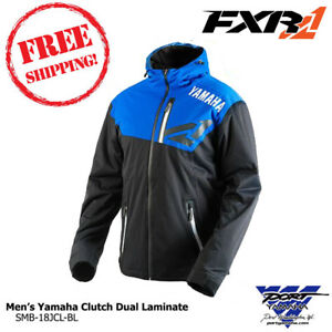 Men's Yamaha Clutch Dual Laminate Hoodie Jacket By FXR SM MD LG XL 2X 3X