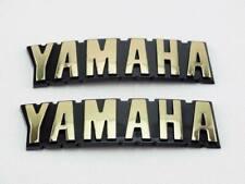 ABS Gas Fuel Tank Emblem Decal Sticker For Yamaha SR185 XV500 XV920 XZ550 RXS100