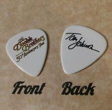 DOOBIE BROTHERS band logo TOM JOHNSTON signature guitar pick -(w)