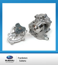 NEW GENUINE SUBARU WATER PUMP + GASKET SUITS FORESTER XT MY13 - MY15