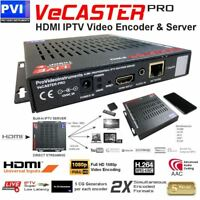 ProVideoInstruments VeCASTER-HD-H264 Pro Single Channel HD 1080p Encoder