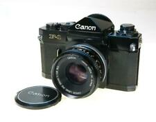 CANON F-1 BODY, 50MM F-1.8 SC LENS,CLEAN, WORKING,METER UNTESTED, SHIP WORLDWIDE