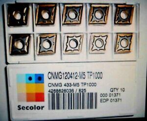 Seco Wendeplatten CNMG120412-M5 TP1000 Wendeschneidplatten ***Neu***