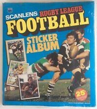 SCANLENS 1983 RUGBY LEAGUE SET 172/172 + ALBUMN  STILL SEALED MINT CARD STICKER