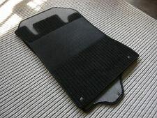 Rips Fußmatten für Mercedes Benz R129 W129 SL + Druckknöpfe + schwarz