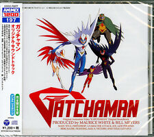 ANIMATION SOUNDTRACK (MAURICE WHITE & BILL MAYERS)-GATCHAMAN-JAPAN CD Ltd/Ed C15