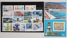 Congo 1987 / 88 OLYMPICS, XF Cpl MNH** Collection, Skiing Athletics Sport Stamp