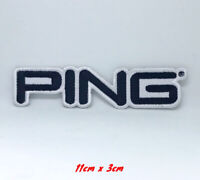Ping Golf Title Embroidered Iron on Sew on Patch #170