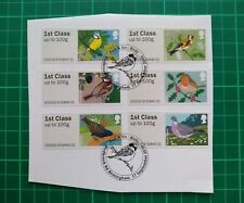 2010 Birds 1 Post & Go Pack Stamps  USED Ex FDC