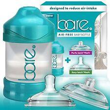 Baby Bottle - Bare Air-Free Feeding System, Perfe-Latch & Easy-Latch Nipples - 4