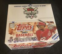 2021 Topps Series 1 MLB Baseball Retail Box 24 packs - Factory Sealed NEW