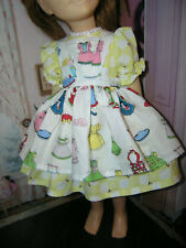 "3 Pc Set Dress Bloomers Apron 25"" Doll clothes fits Mattel Charmin Chatty Cathy"