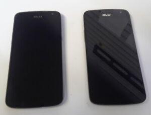 BLU Studio X Plus D770U - 8GB - Black (Unlocked) lOT FOR PARTS AS IS (2)