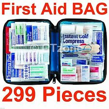 299 Piece First Aid Kit Emergency Bag Home Car Outdoor - trauma medical survival
