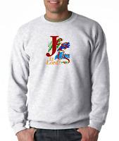 Gildan Long Sleeve T-shirt Christian Jesus Is Lord