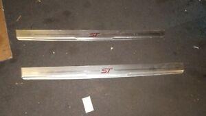 ford focus ST cill strips 3 door trims sill 2005 - 2010 MK2 st225 door strip