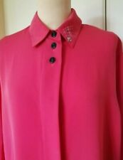 LADIES BLOUSE by EUGENE  KLEIN   BURNED ORANGE  SIZE 12-14   IN IMMACULATE COND.