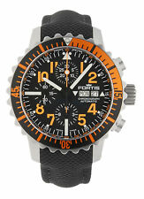 Orig. Fortis Aquatis B-42 Marinemaster Chronograph Herrenuhr Orange 671.19.49 LP