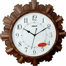 Wall Clock Oreva Wood Plastic Material living Bed room Multi Color Good Quality