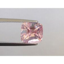 Natural Unheated Padparadscha Sapphire Pink-orange color Cushion shape 3.85 cts