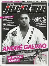 AUGUST 2015 JIU-JITSU martial arts magazine ANDRE GALVAO