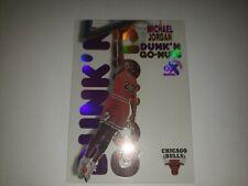 MICHAEL JORDAN 1998/99 E-X CENTURY #15 DUNK N GO NUTS CHICAGO BULLS SP RARE