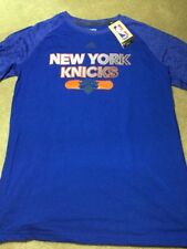 NBA NY KNICKS Adidas Men Reflective Authentic Climate Ultimate S/Tee, LARGE NWT