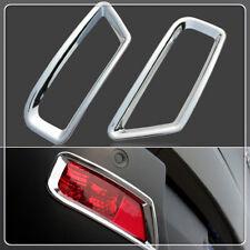 2X Peugeot 3008 2009-2015 Car Rear Fog Light Lamp Cover Chrome  Modification Kit