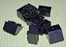 Detail Parts ~ (8) Black 2x2 Standard Inverted Slope Bricks ~ Lego ~ NEW ~Castle