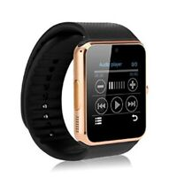 NEW SMART WATCH WITH TOUCH SCREEN CAMERA MIC TEXTING CALLING FOR IPHONE SAMSUNG