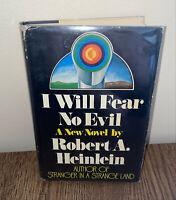 Robert A. Heinlein I WILL FEAR NO EVIL 1st Ed! 1st Print! CLASSIC!