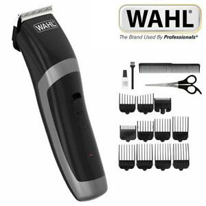 Wahl Cordless Mens Rechargeable Hair Clipper Trimmer Grooming Set 9655-417