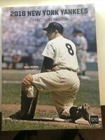 2016 New York Yankees Official Yearbook Honoring Yogi  Berra.