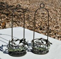Partylite Metal Candle holder Decorative baskets set of 2