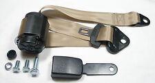 Beige Automatik 3 - Punkt Sicherheitsgurt Mercedes W 116 , New beige Seatbelt