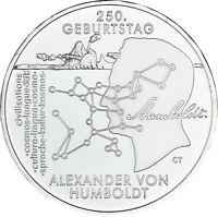 Deutschland 20 Euro 2019 Alexander von Humboldt Münze prägefrisch