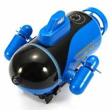 Mini Remote Control Boat Toy Radio Racing RC LED Light Waterproof Submarine