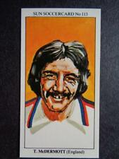 LE SOLEIL soccercards 1978-79 - TERRY McDERMOTT - ANGLETERRE #113