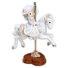 Precious Moments Premier Collection 4001787 A Winter Wonderland Carousel Horse