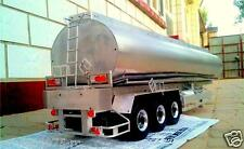 3-axis 1/14  Large Aluminum RC Fuel Tanker Trailer for all Tamiya Tractor Truck