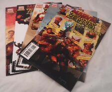 Marvel Zombies / Army of Darkness #1, 2, 3, 4, 5 Complete Set 2007 Marvel