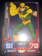 Hero coronó 2014 Marvel foil-mapa nº 29 Iron Fist Walker