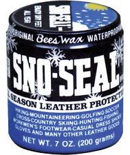 Sno Seal Original Bees Wax Leather Snow Protector Waterproofer - 7 oz
