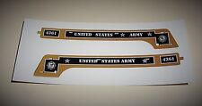 MARX 4361 ENGINE SIDES REPRO DECALS ARMY MILITARY EXC. QUALITY LOOK AT PHOTOS