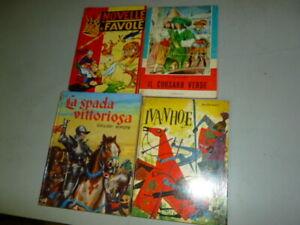 lotto  4 libri narrativa per ragazzi vintage lotto nr. 8