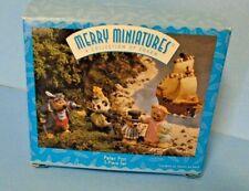 Hallmark Merry Miniatures Set Peter Pan 1997 Five Piece Set